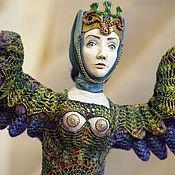 Куклы и игрушки ручной работы. Ярмарка Мастеров - ручная работа Птица Сирин. Handmade.