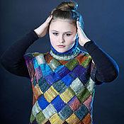 Одежда ручной работы. Ярмарка Мастеров - ручная работа Водолазка без рукавов норо. Handmade.