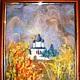 """Символизм ручной работы. Заказать картина """"Церковь"""". Клуб 'Дизаин Духа'. Ярмарка Мастеров. Церковь, Картины и панно"""