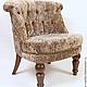 Мебель ручной работы. Ярмарка Мастеров - ручная работа. Купить Будуарное кресло. Handmade. Кресло, подарок девушке, лоскутная техника