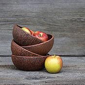 Посуда handmade. Livemaster - original item Texture Bowl. Handmade.