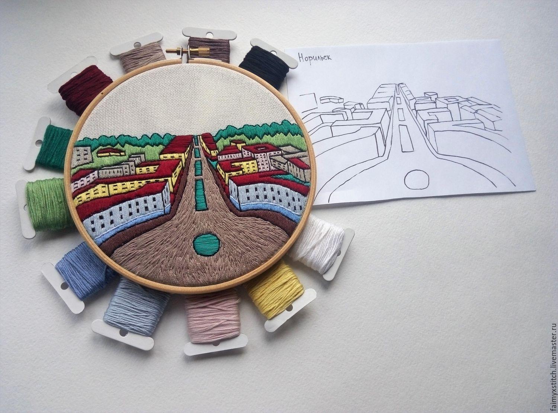 Комбинированная вышивка схемы