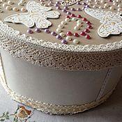 Свадебный салон ручной работы. Ярмарка Мастеров - ручная работа Коробка для свадебного торта. Handmade.