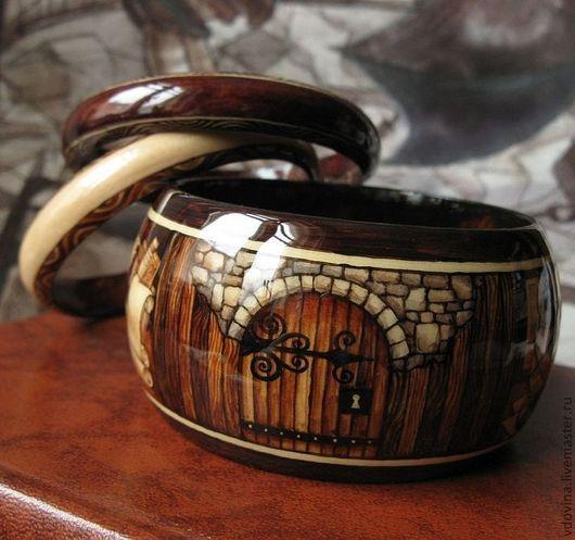 """Браслеты ручной работы. Ярмарка Мастеров - ручная работа. Купить браслеты """"На чердаке"""". Handmade. Браслеты, коричневый браслет"""