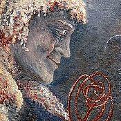 Картины и панно ручной работы. Ярмарка Мастеров - ручная работа Картина. Любимец луны. Масло, холст на подрамнике, 35х45 см., кисти.. Handmade.