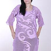 "Одежда handmade. Livemaster - original item Beach tunic ""Dragon"". Handmade."