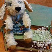 Мягкие игрушки ручной работы. Ярмарка Мастеров - ручная работа Овечка-Беляночка. Handmade.