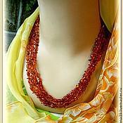 Necklace handmade. Livemaster - original item Beads