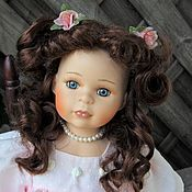 Куклы и игрушки handmade. Livemaster - original item Collectible porcelain doll Marshmallow from Bettina Terminals (V). Handmade.