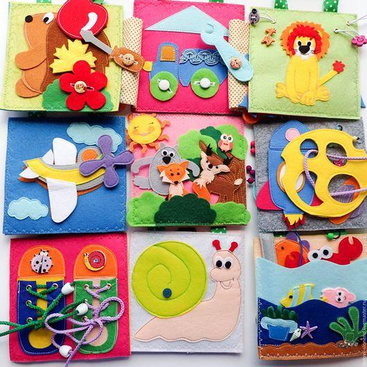 Развивающие игрушки ручной работы. Ярмарка Мастеров - ручная работа. Купить Набор развивающих планшетов №6 (15 Х 15). Handmade.
