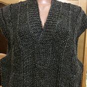 Одежда ручной работы. Ярмарка Мастеров - ручная работа Жилет из  шерсти овечьей ,100 % шерсть. Handmade.