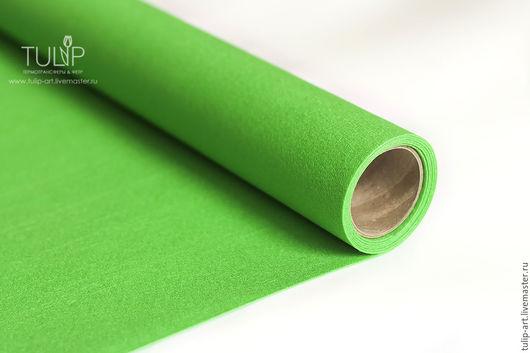 Валяние ручной работы. Ярмарка Мастеров - ручная работа. Купить Фетр под термотрансфер сублимацию травяной зеленый жесткий 1,0мм Корея. Handmade.