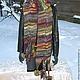 """Шарфы и шарфики ручной работы. Ярмарка Мастеров - ручная работа. Купить Шарф вязаный женский """" Лесная фея"""" 2метра 60см(ручная вязка). Handmade."""