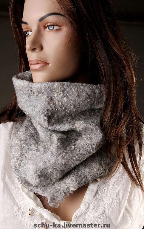 шарф-труба стильный и модный аксессуар.