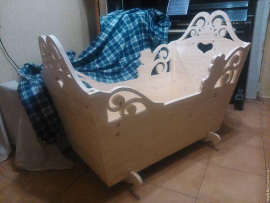 Мебель ручной работы. Ярмарка Мастеров - ручная работа. Купить Люлька для младенца. Handmade. Ручная работа, сосна