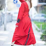 Одежда handmade. Livemaster - original item Elegant, red jumpsuit - JP0383PLV. Handmade.