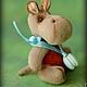 Мишки Тедди ручной работы. Заказать Бегемотик Нюша. Сказка рядом. Ярмарка Мастеров. Маленький, хлопок