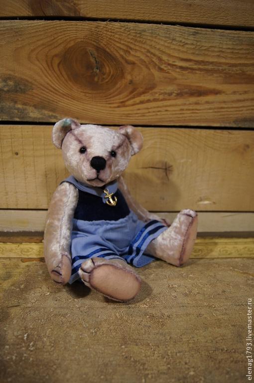 Мишки Тедди ручной работы. Ярмарка Мастеров - ручная работа. Купить Юнга  Наум. Handmade. Белый, мишка в подарок, бархат
