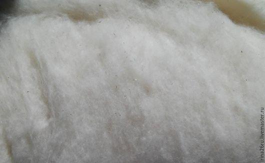 Белый кардочес, карачаевская шерсть