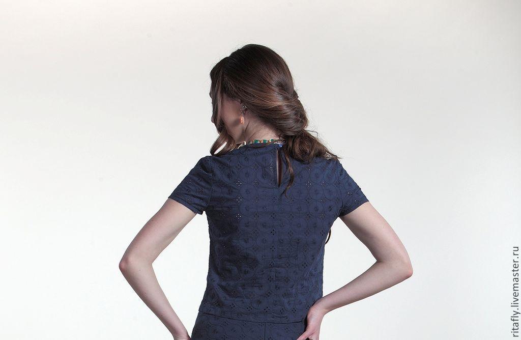 Летние блузки из хлопка