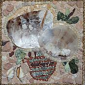 Картины и панно ручной работы. Ярмарка Мастеров - ручная работа Мозаичное панно: Цветочные фантазии - 8. Handmade.