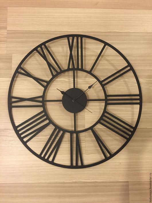 """Часы для дома ручной работы. Ярмарка Мастеров - ручная работа. Купить Часы 50см """"Rooma"""". Handmade. Настенные часы"""