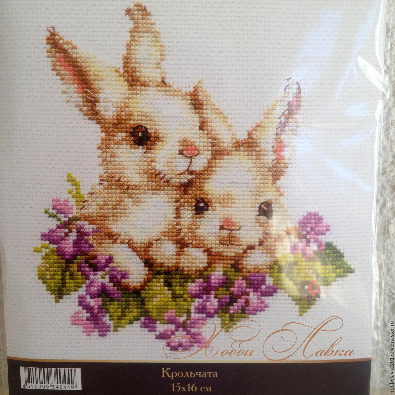 Вышивка алиса крольчата
