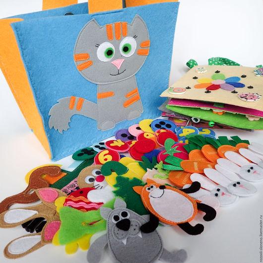Развивающие игрушки ручной работы. Ярмарка Мастеров - ручная работа. Купить Набор развивающих планшетов №5 (15 Х 15). Handmade.