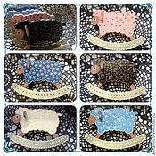 """Косметика ручной работы. Ярмарка Мастеров - ручная работа Елочная игрушка """"Овечка большая"""". Handmade."""