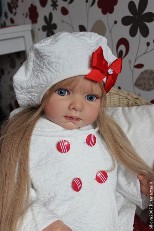 Куклы-младенцы и reborn ручной работы. Ярмарка Мастеров - ручная работа. Купить Ульяночка. Handmade. Ярко-красный, генезис