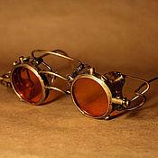 """Аксессуары ручной работы. Ярмарка Мастеров - ручная работа Стимпанк-очки""""Arctrine"""". Handmade."""