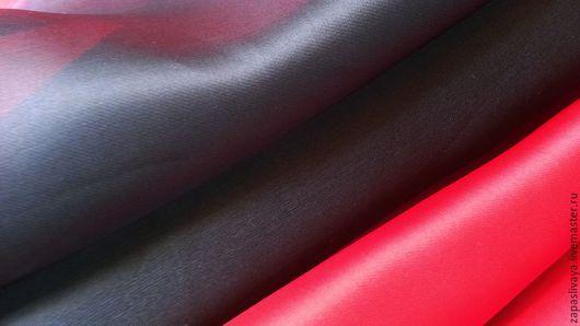 Шитье ручной работы. Ярмарка Мастеров - ручная работа. Купить Органза Red Valentino. Handmade. Органза, купить ткань