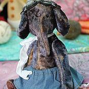 """Куклы и игрушки ручной работы. Ярмарка Мастеров - ручная работа Слоник """"Детские воспоминания"""". Handmade."""