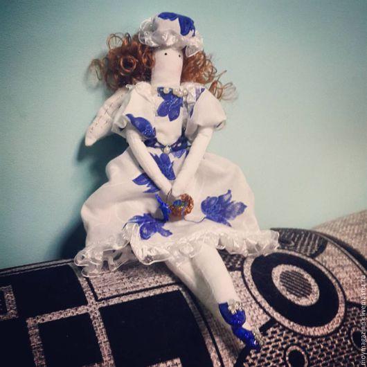Куклы Тильды ручной работы. Ярмарка Мастеров - ручная работа. Купить Кукла Тильда. Фея рукоделия.. Handmade.