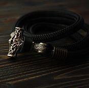Украшения handmade. Livemaster - original item Men`s Bracelet - Hammer Of Thor. Handmade.