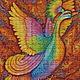 ... Жар-птица-это олицетворение огня, света, солнца. Жар-птица питается золотыми яблоками, дающими молодость, красоту и бессмертие; когда она поет, из её клюва сыплются жемчуга. Пение жар-птицы исцеля