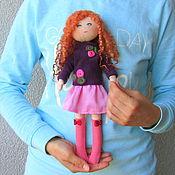 Куклы и игрушки ручной работы. Ярмарка Мастеров - ручная работа Кукла со сменной одеждой. Тряпичная Кукла. Текстильная Кукла. (4). Handmade.