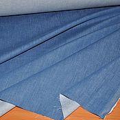 Ткани ручной работы. Ярмарка Мастеров - ручная работа Вареная джинса стрейч Итальянская. Handmade.