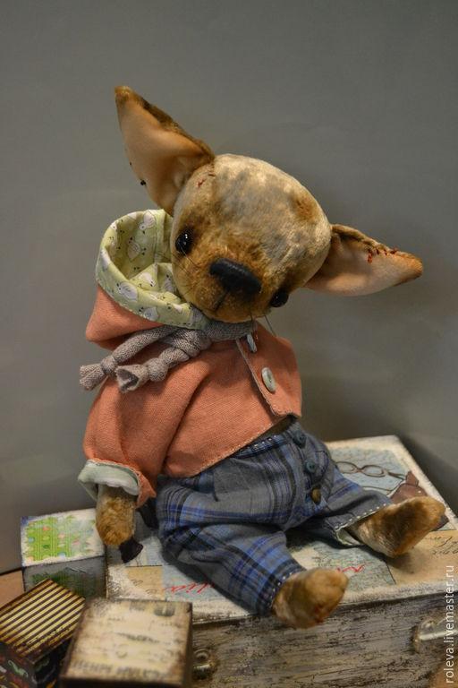 Мишки Тедди ручной работы. Ярмарка Мастеров - ручная работа. Купить Сынок. Handmade. Бежевый, чихуахуа, елена ролева