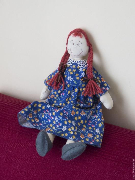Развивающие игрушки ручной работы. Ярмарка Мастеров - ручная работа. Купить кукла Соня. Handmade. Голубой, развивающая игрушка, фетр