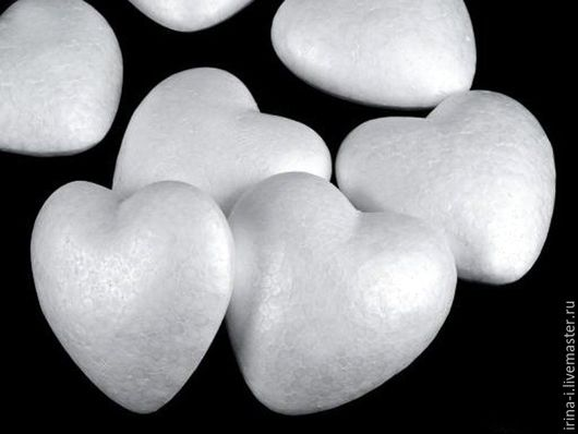 Другие виды рукоделия ручной работы. Ярмарка Мастеров - ручная работа. Купить Сердце из пенопласта 7 см, 8,5 см, 9 см, 10 см, 11 см. Handmade.