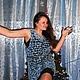 """Кофты и свитера ручной работы. Ярмарка Мастеров - ручная работа. Купить Трансформер """"Синий иней""""/Авторская работа.. Handmade. Голубой, одежда"""