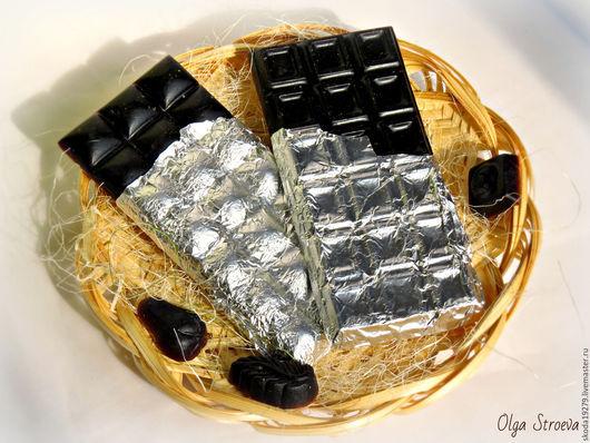 """Мыло ручной работы. Ярмарка Мастеров - ручная работа. Купить Мыло """"Черный шоколад"""" - вкусное мыло). Handmade. Мыло"""