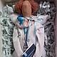 Куклы Тильды ручной работы. Ярмарка Мастеров - ручная работа. Купить доктор (психиатр) в стиле Тильда. Handmade.