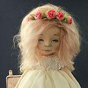 Куклы и игрушки ручной работы. Ярмарка Мастеров - ручная работа Текстильная авторская кукла Амели. Handmade.