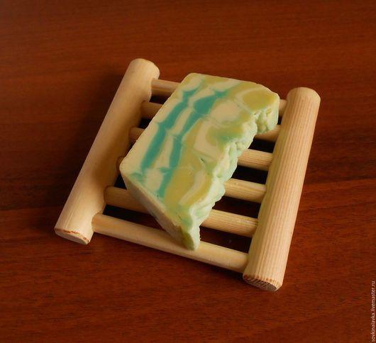 Ванная комната ручной работы. Ярмарка Мастеров - ручная работа. Купить Деревянная мыльница. Handmade. Желтый, мыльница ручной работы