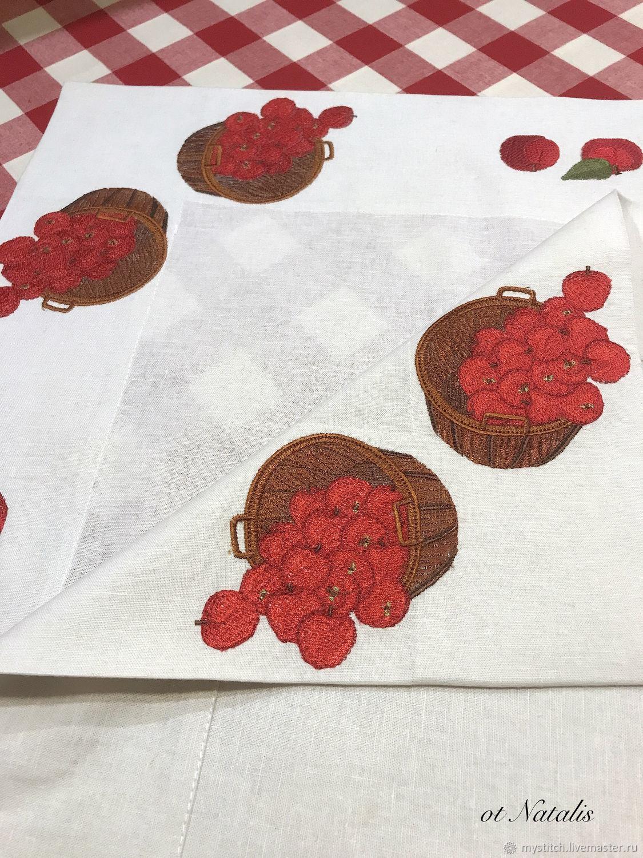 Скатерти из льна ткань из микрофибры