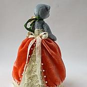 Куклы и игрушки ручной работы. Ярмарка Мастеров - ручная работа Half Teddy Bear. Будуарная Мишка Тедди Анна.. Handmade.