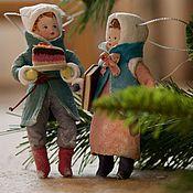 Куклы и игрушки handmade. Livemaster - original item Christmas toys, Cotton toys