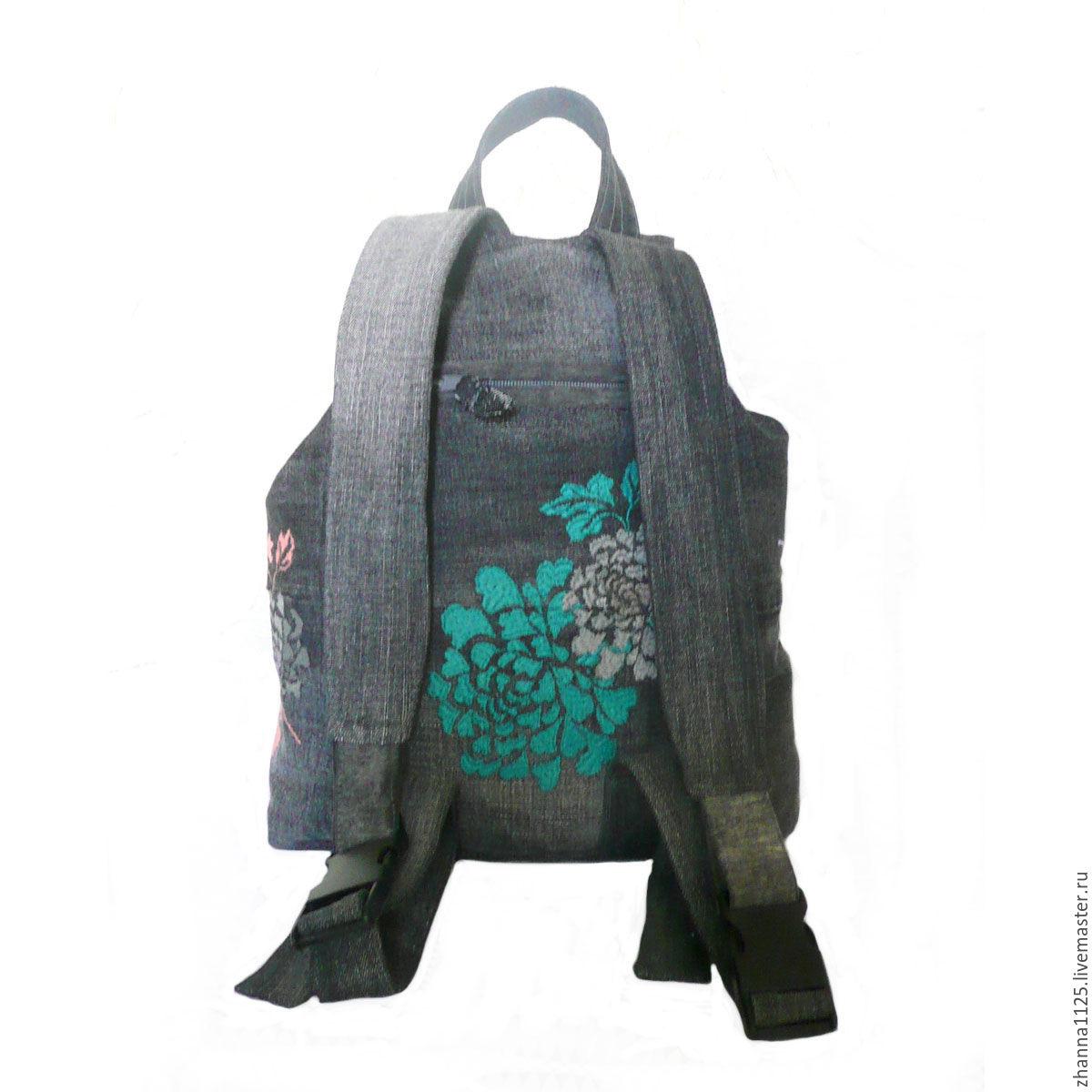 Рюкзаки с вышивкой фото